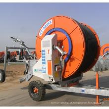 Sistema de irrigação do carretel de mangueira de duas rodas de fábrica
