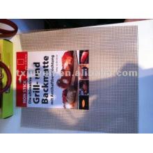 Accesorios de barbacoa antiadherente de fibra de vidrio Mesh Grill, tamaño del agujero: 4mm * 4mm