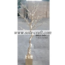 Boda de moda decorativa pieza central Crystal Table Tree 145CM