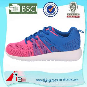 2016 zapatos cómodos del deporte de la manera para el resorte y el verano