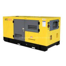 Unite Power 20kw Sound Engine Isuzu Diesel Engine Generating Set