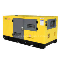 Unite Power 20kw Soundproof Isuzu Diesel Engine Generating Set