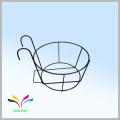Made in China door hanging racks metal wire flower pot holder for sale