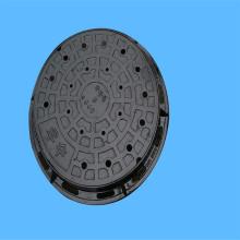 Tapa de boca de drenaje de hierro fundido EN124 850 * 850
