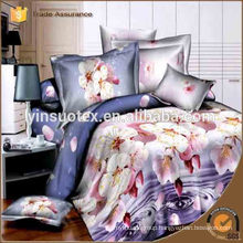 100% cotton printed bedding set ,hebei yinsuo textile