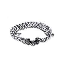 Großhandel billig Schädel Halskette Kette von 316l Edelstahl