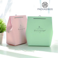 Gift Bag Candy Packaging Bag White Cardboard Paper