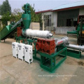 three stage plastic pellets making machine