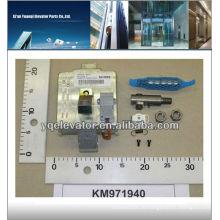 Список тормозных колодок Kone KM971940