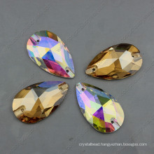 Tear Drop Crystal Loose Stones for Clothing Sewing