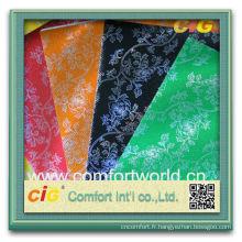 Création de mode nouvelle assez coloré ningbo impression tissu Laser de Pp Non tissé