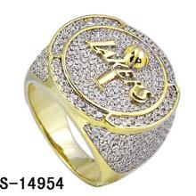 Hip Hop Schmuck Ring Silber 925 für den Mann