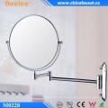 3X Magnify Brass Make-up gefalteter Badezimmerspiegel