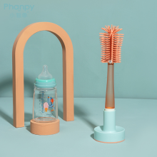 Silicon Baby Bottle Clean Brush Drying Display Rack