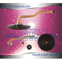 Camions Autobus Tire Innertube Tubeless Valve