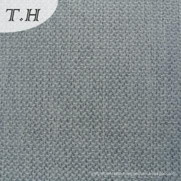 Luxury 100% Polyester Grey Linen Sofa Fabric