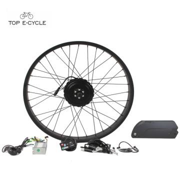 """26 """"x 4,0 4,0 a bicicleta elétrica da neve da bicicleta do pneu gordo convensiona os jogos 48v 750w da bicicleta"""