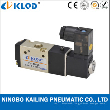 Pilot Acting Aluminum 5 Way Air Solenoid Valve 4V410-15