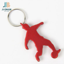High Quality Factory Promotional Gift Red Alloy Custom Logo Bottle Opener