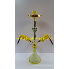 Colorful Wholesale Zinc Alloy Nargile Smoking Pipe Shisha Hookah
