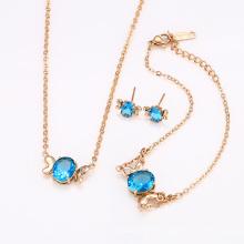 62316 best selling fashion beautiful wedding jewelry sets dubai bridal 3 piece jewelry set