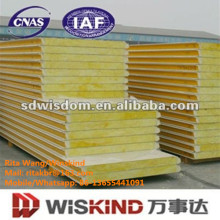 Glass Wool Sandwich Panel for Building Materials Withiso9001