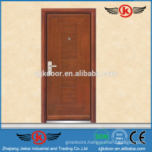 JK-A9013 reinforced steel wood armored flush door price