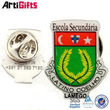 Nouveau produit badges métalliques enduits d'époxy de marques célèbres