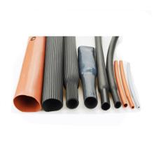 Tuyauterie de rétrécissement de la chaleur de caoutchouc de silicone de haute résistance pour le transformateur