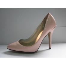 Novo estilo de camurça sapatos de salto alto (hcy03-010)