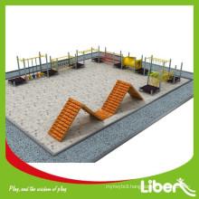 New Design Amusement Park Outdoor Playground Type Children Wooden Playground