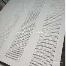 Placa de yeso perforada de absorción acústica