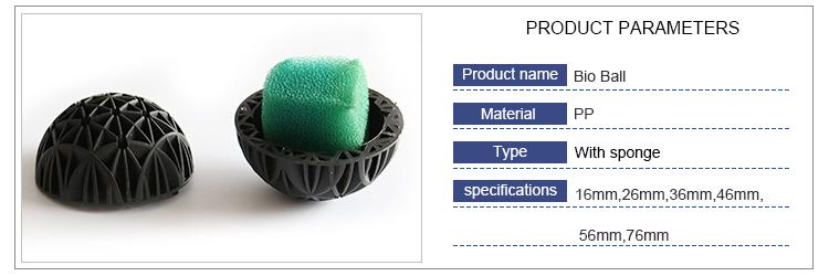 Bio Ball with cotton