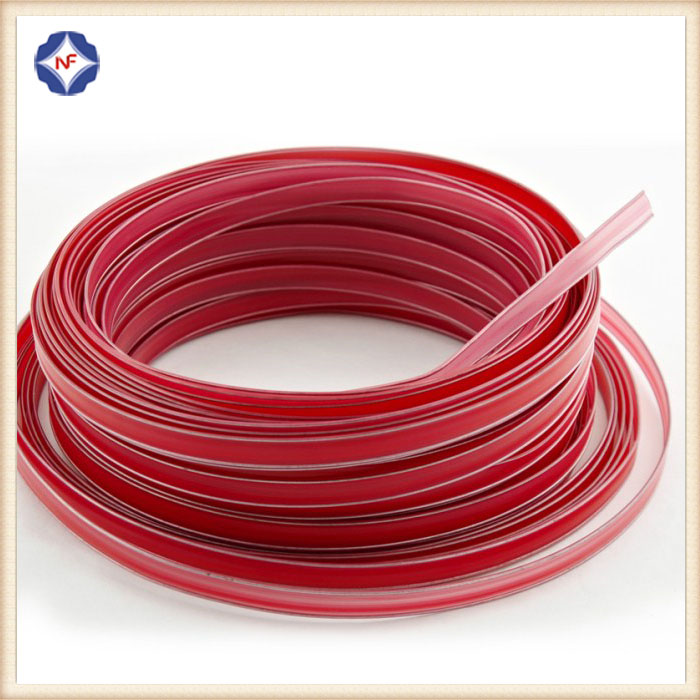 plastic double wire twist tie