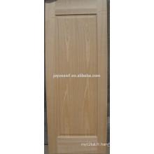 Peinture de porte plaqué moulé HDF / MDF par cendres / teck / sapeli / chêne