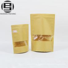Чай бумажный мешок ziplock стоят вверх мешки корабля