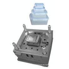 Molde pequeño y mediano de caja de almuerzo de plástico
