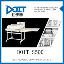 Machine de vêtement DOIT-S500 de machine de la série Fusing, machine de tissu Taizhou, porcelaine de Zhejiang
