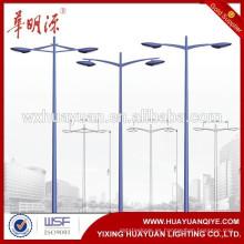 La mejor calidad Buen diseño del jardín de acero lámpara calle postes de iluminación