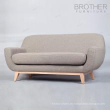 Heißer Verkauf Hochzeit Stühle für Braut und Bräutigam Sofa Stuhl / Holz Café Sofa Stuhl