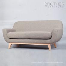 Chaises de mariage de vente chaude pour la mariée et le marié sofa chaise / chaise de sofa de café en bois