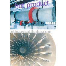 Secador de barril giratorio usado en polvo de metal