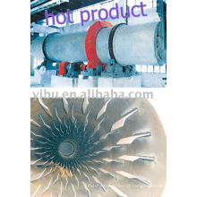 Secador de barril giratório usado na mineração