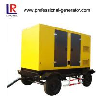 100kVA 80kw Soundproof Diesel Mobile Generator