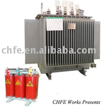 Transformador de la subestación de energía eléctrica
