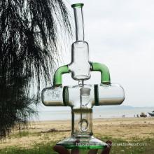 Explorador da terra mais novo Projeto Tubos de água de vidro de fumar (ES-GB-285)