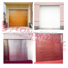 China aluminum alloy garage rolling doors
