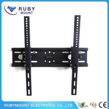 Soportes de impacto Montaje de pared de TV con inclinación plana de plasma LCD LED