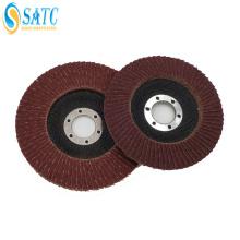 Disco de retalho de fibra de vidro SATC para lixar madeira