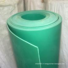 Panneau en plastique mou ignifuge de PVC pour la construction